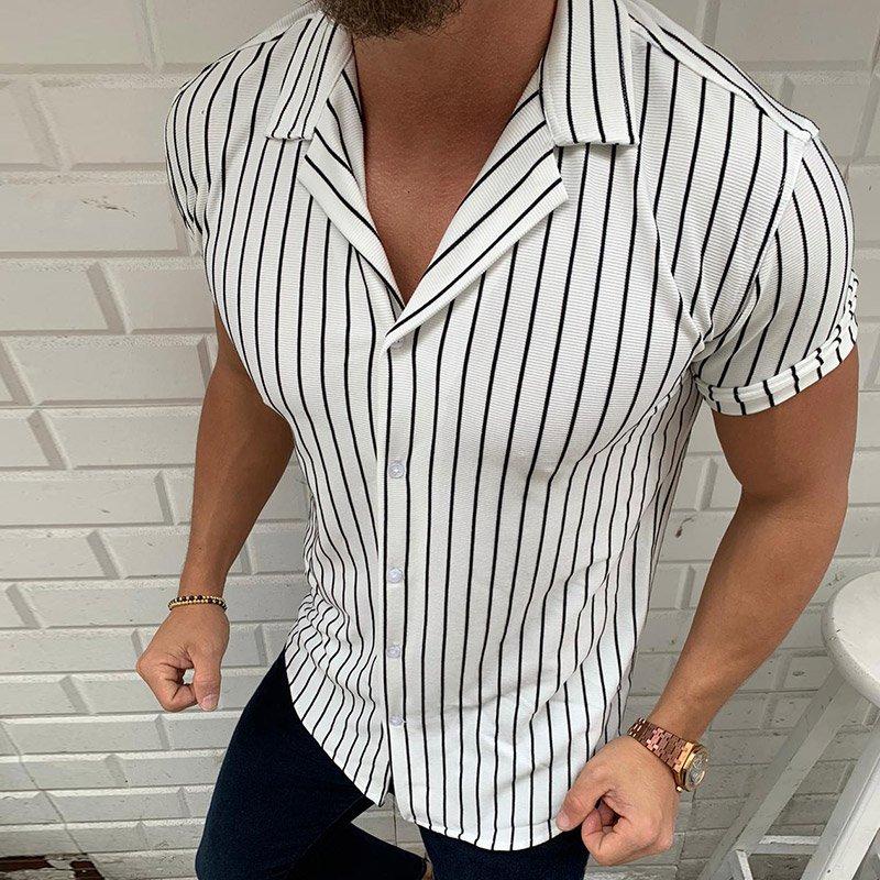 Спортно елегантни ризи с къс ръкав