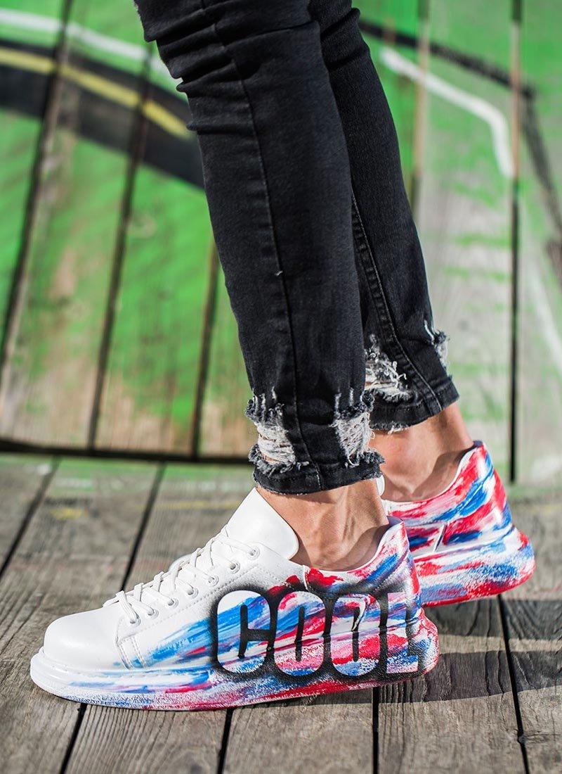 Мъжки ежедневни обувки с надпис CH254-425