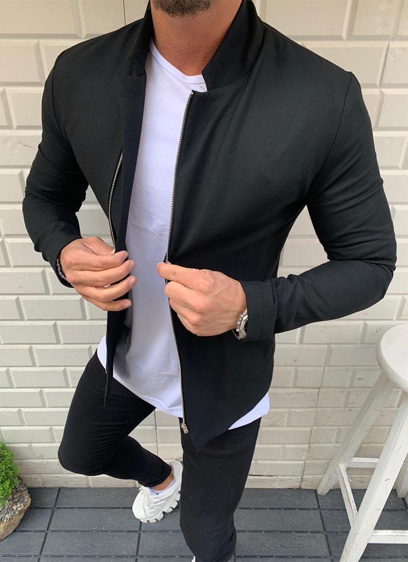 Мъжко яке в черно
