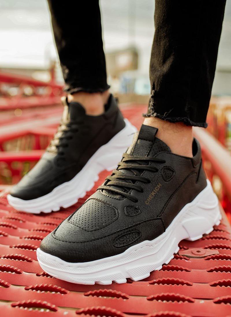 Мъжки спортни черен цвят обувки