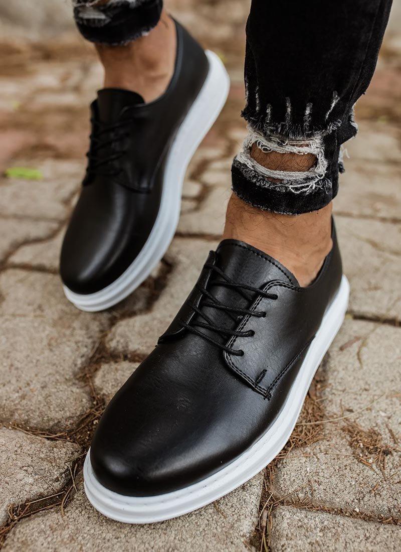 Мъжки ежедневни обувки в черно CH003-SHBT
